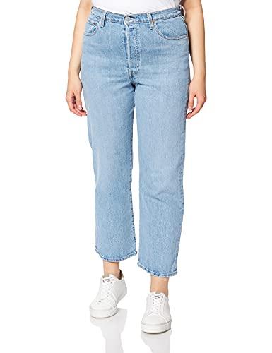 Levi's Ribcage Straight Ankle Jeans, Tango Gossip, 26W x 27L Femme prix et achat