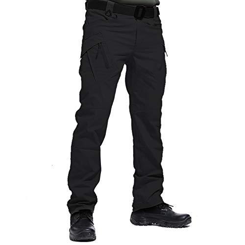LHHMZ Pantalon Cargo de randonnée en Plein air pour Homme Sports Tir Chasse Militaire Tactique...