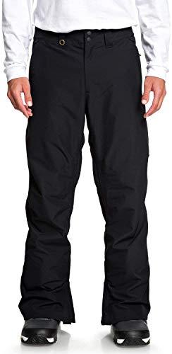 Quiksilver Estate-Pantalon de Ski/Snowboard pour Homme, Black, FR : L (Taille Fabricant : L)