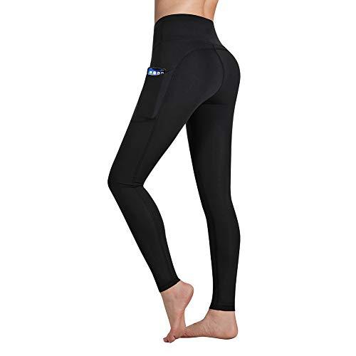 Occffy Legging de Sport Femme Pantalon de Yoga avec Poches Yoga Fitness Gym Pilates Taille...