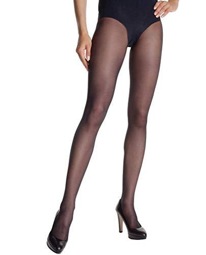 Dim Diam's Ventre Plat - Collants - Uni - 25 deniers - Femme, Noir, FR: 3 (Taille fabricant: 3)