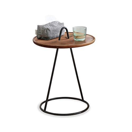 Table Basse Table D'appoint En Bois Salon Sofa Sofa Stockage Table Coin En Bois Petite Table D'accompagnement Salon Tables Basse Table Basse Ronde Table Basse Rangement pour la cuisine