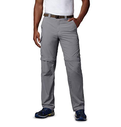 Columbia Men's Silver Ridge Convertible Pant, UPF 50 Sun Protection, Gravel, 40x36 prix et achat