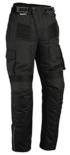 Pantalon Moto imperméable Style Cargo - Cordura/élasthanne - Renforts certifés CE-1621-1 -...