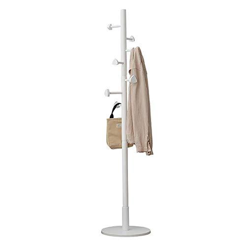 Simple étage Moderne Minimaliste Cintre Arbre Stand Chapeau Rack 7 Crochet pour Veste Sac à...