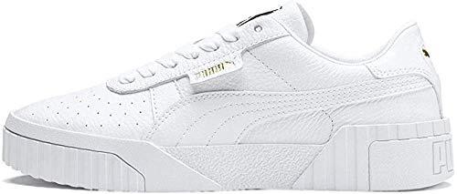 PUMA Cali Wn's, Baskets Femme, White White, 41 EU