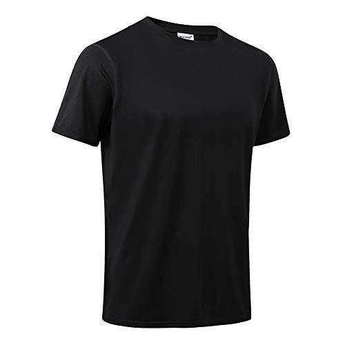 MeetHoo T-Shirt Homme,Tee Shirt Sport Manche Courte Séchage Rapide Respirant Baselayer Haut...