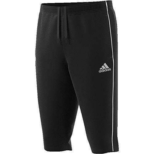 Adidas, Core 18, Pantalon 3/4, Noir Blanc, L Homme