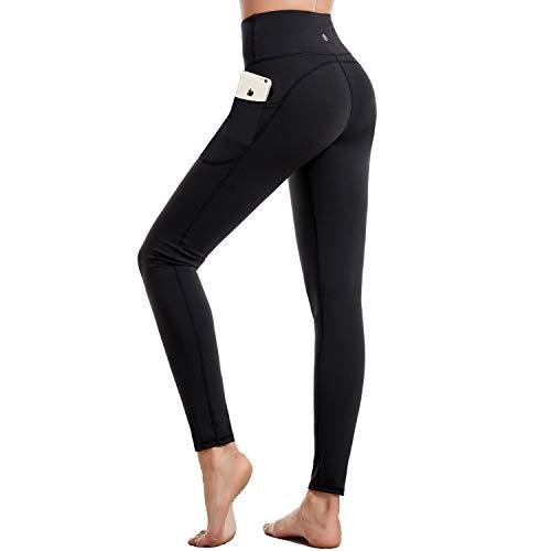 CAMBIVO Legging de Sport Femme, Pantalon de Yoga avec Poches, Pantalon Femme Taille Haute pour...