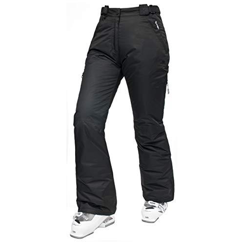 Trespass Pantalon de ski pour femme Lohan -Noir - Taille : Medium