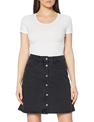 Only NOS Onlfarrah Reg DNM Skirt Bj14495 Noos Jupe, Noir (Black Denim Black Denim), 44 (Taille Fabricant: 42.0) Femme