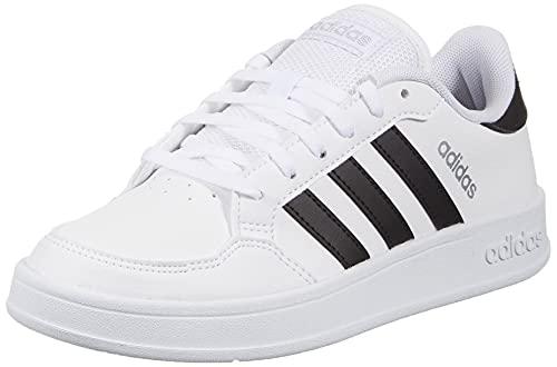adidas BREAKNET, Chaussures de Tennis Femme, FTW Bla/Negbás/Plamet, 39 1/3 EU prix et achat