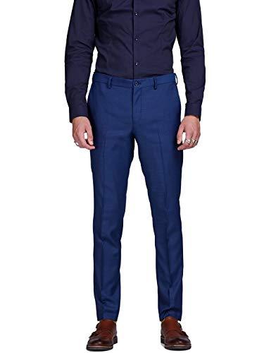 Jack & Jones Jprsolaris Trouser Noos Pantalon De Costume, Bleu (Medieval Blue Medieval Blue),...