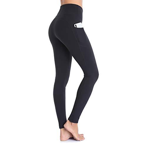 Ollrynns Legging de Sport Femme Taille Haute Pantalon de Fitness Leggins avec Poches pour...