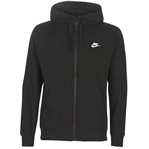 Nike NSW Club Hoodie FZ BB, Homme, Noir (Black/White)_XL prix et achat