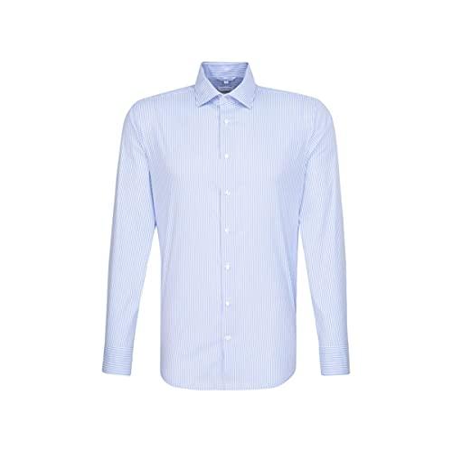 Seidensticker X-Slim Langarm Twill Chemise, Bleu (11), 42 Homme prix et achat
