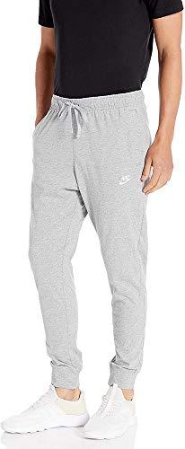 Nike M NSW Club JGGR JSY Pantalon de Sport Homme DK Grey Heather/(White) FR: L (Taille...