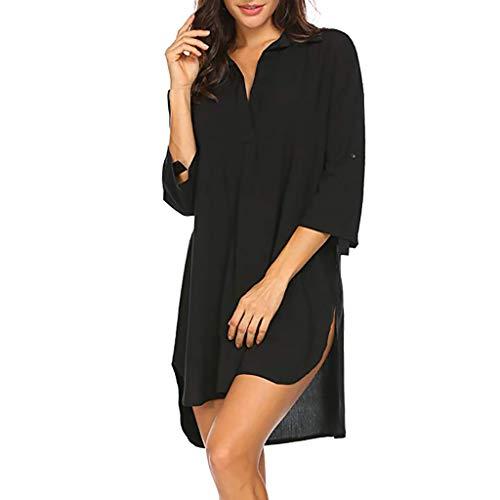Brosloth Robe de Plage pour Femmes Beach Cache Maillot de Bain Cover Up Poncho Bohème Tunique...