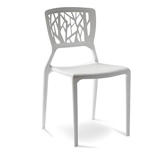 Designetsamaison Chaise Design Blanche - Verdi