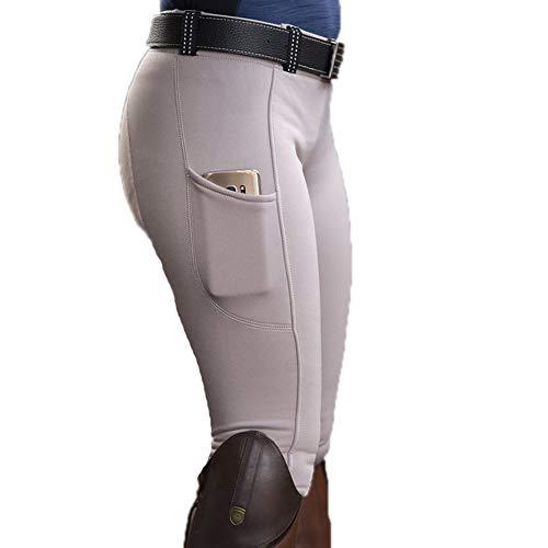 Poches de personnalité pour Femmes Pantalon Skinny de Couleur Unie Pantalon de Camping en...