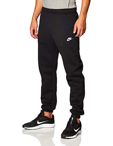 Nike x Les Pantalons De Survêtement Homme, Noir (Black/White), S prix et achat