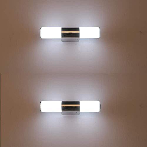 XIAJIA-2 pcs 6W LED Applique murale intérieur, moderne appliques...