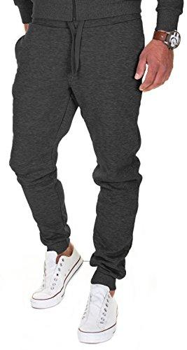 Merish Pantalons de Sport pour Homme Pantalons pour Les Loisirs, Les Sports et la Maison Modell 211 Anthracite L