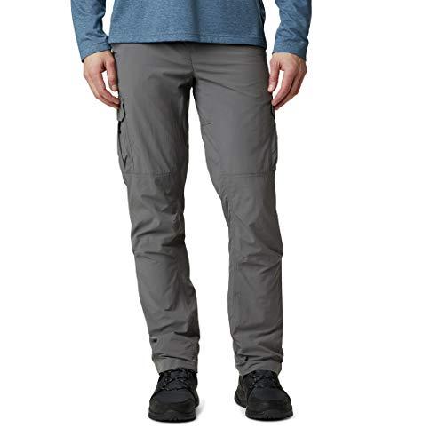 Columbia Silver Ridge II Pantalon de Randonnée Cargo Homme, City Grey, W32/L32