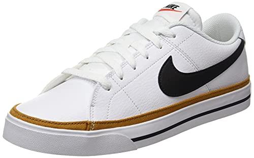 Nike Court Legacy, Chaussure de Piste d'athltisme Homme, White Black Desert Ochre Gum Light...