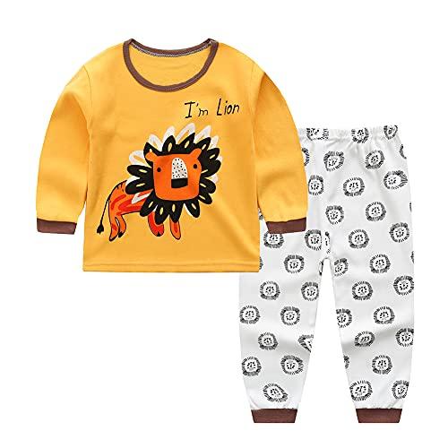 BOBORA Pyjamas Bébé Garçon, Motif de Dessin Anime Bébé Filles Garçons Manches Longues...