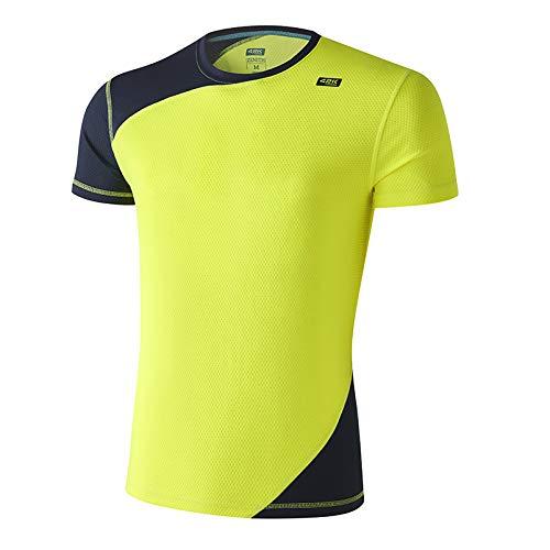 42K Running Zenith T-Shirt technique 42 K M Jaune fluo