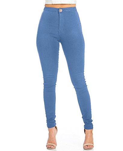 Pantalon Femme Slim Jeans Grande Taille Haute Stretch Jeggings Skinny Denim Pantalons du 36 au...