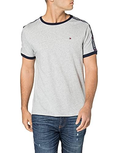 Tommy Hilfiger - UM0UM00562 - Rn Tee Ss - T-shirt - Homme - Gris (Grey Heather 004) - Taille: M