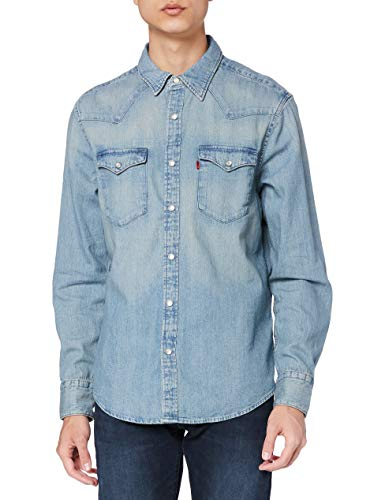 Levi's Barstow Western Standard Chemise Casual, Blue (Red Cast Stone 0001), XX-Large Homme prix et achat