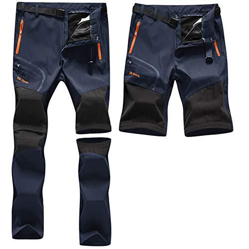 ZOEREA Pantalon Outdoor Homme Printemps Été Mince Coupe-Vent Séchage Rapide Pantalons Shorts...