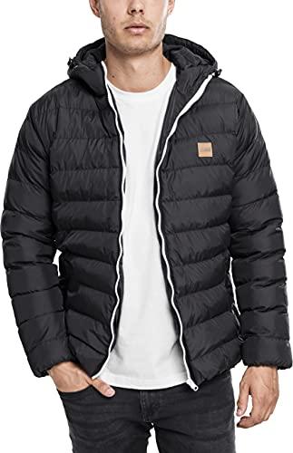Urban Classics Basic Bubble Jacket Homme, Noir (blkblkblk), M prix et achat