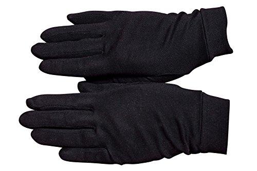 Sous gants de soie noirs (8)