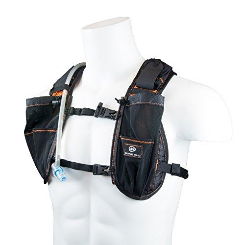 Orange Mud Gear Vest Sacs d'hydratation Adulte Unisexe, Noir, 1L