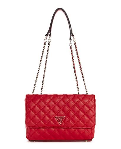 Guess Handbag, Sac à Main Femme, Rouge à lèvres, Taille Unique