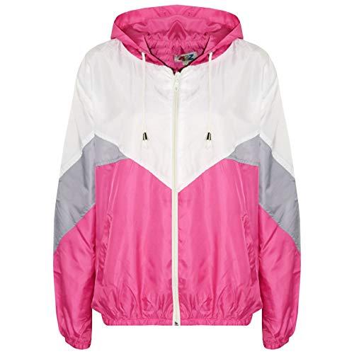 A2Z 4 Kids® Enfants Filles Garçons Coupe-Vent Vestes Léger Imperméables - Windbreaker 504 Pink 7-8