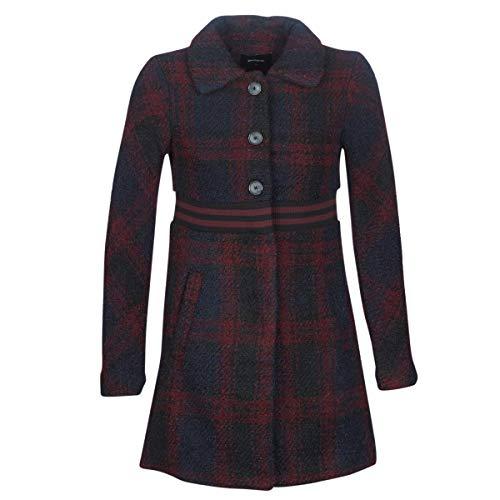 Desigual Salt Lake City Manteaux pour femme Rouge Taille 38 (EU 40)