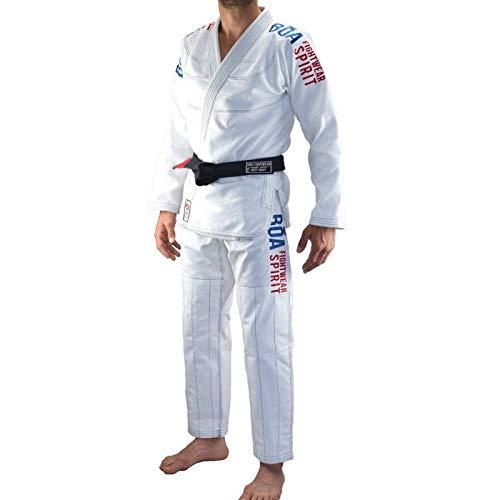 Kimono JJB Bõa Tudo Bem 2.0 - Blanc - Blanc, A2F