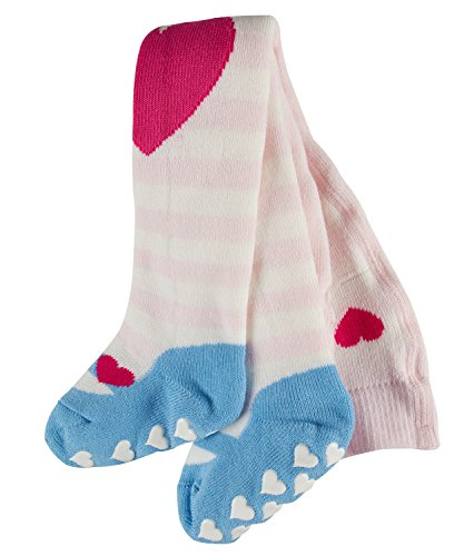FALKE Crawler Girl TI Collants, Rose (Powder Rose 8902), 1-6 Mois (62-68cm) Mixte bébé