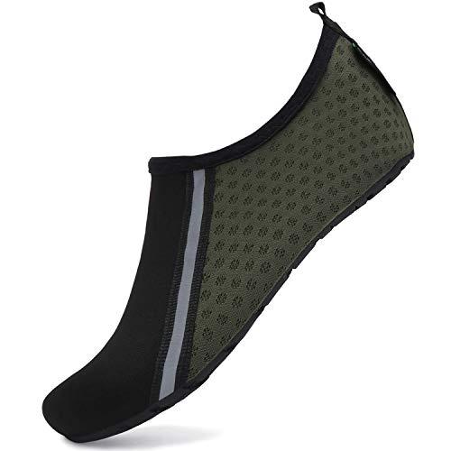 SAGUARO Mixte Chaussure d'eau à Pieds Nus Ultra Léger Doux Chaussures de Plage Hommes Femmes...