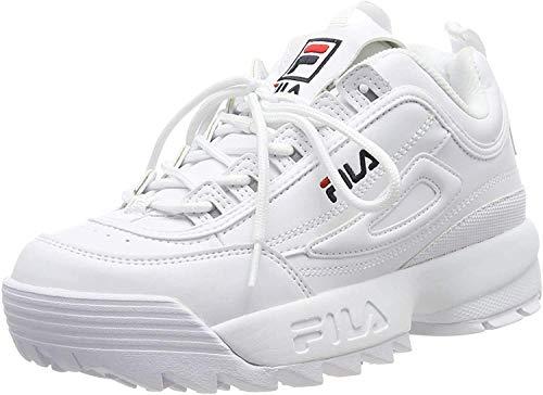 Fila Disruptor WMN, Sneaker Femme, Blanc, 39 EU