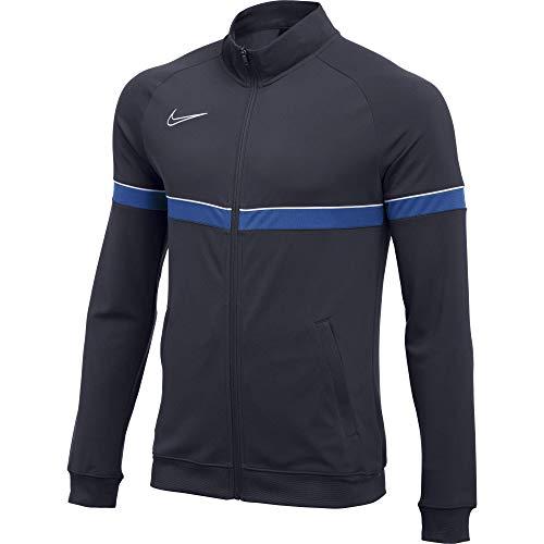 Nike Dri-FIT Academy 21 Veste Homme, Obsidienne/Blanc/Bleu Royal/Blanc, L prix et achat