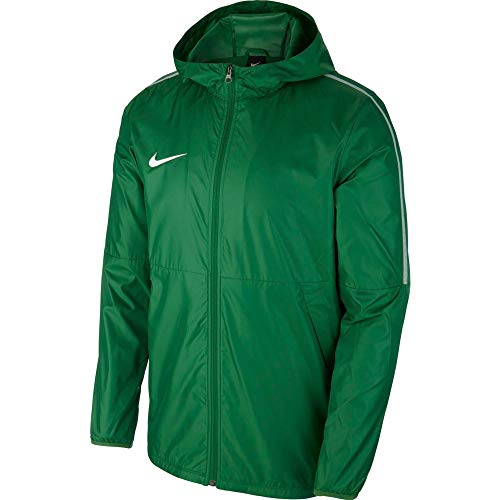 Nike Park18 Rain Jacket Coupe-Vent Enfant Pine green/White FR : XS (Taille Fabricant : XS)