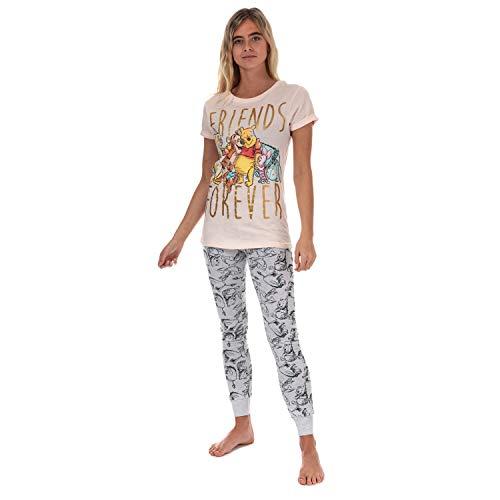 Disney Femmes Winnie l'ourson et Ses Amis Cuffed Pyjama: Moyen (12-14) prix et achat