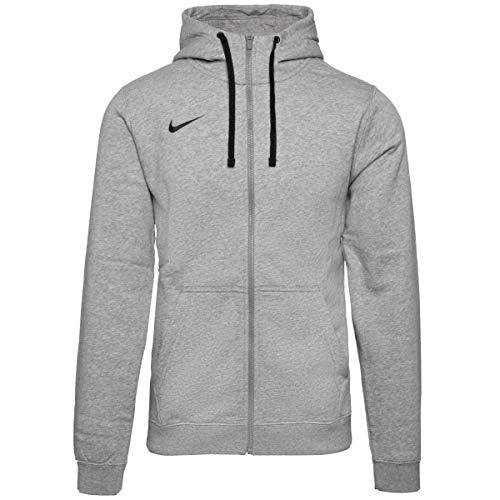 Nike - FZ Fleece TM Club19 - Veste à capuche - Homme - Gris (Dk Grey Heather/063) - Taille: S