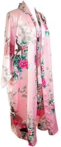 CCcollections Kimono Robe Longue 16 Couleurs Premium Paon Demoiselle d'Honneur Nuptiale Womens...